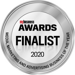 Finalist in the MyBusiness Awards 2020