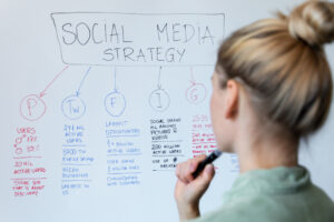 How to develop a social media strategy using SMART goals